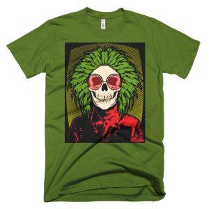 Skull T shirt Womens
